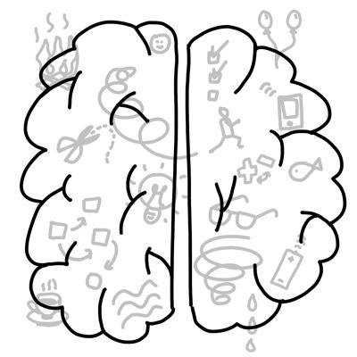 brein houdt van plaatjes