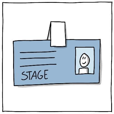 Symbool BPV Stage pasje formeel stagiair