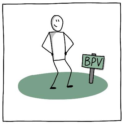 Symbool BPV tekenen op locatie