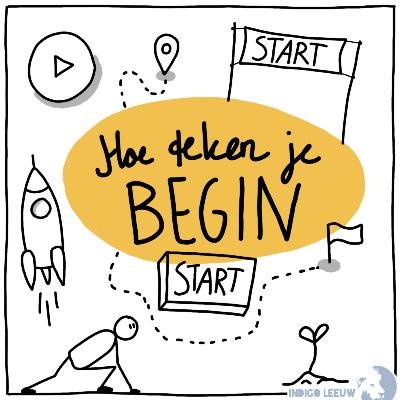 Hoe teken je Beginnen of starten zeven ideeen om begin te tekenen