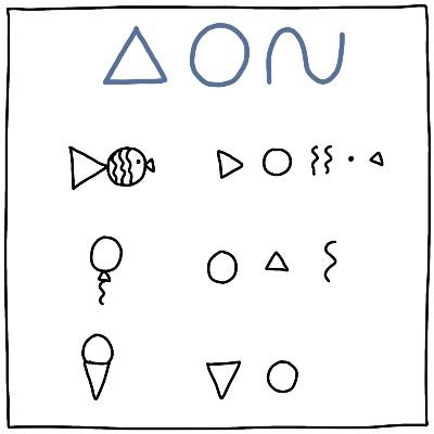Eenvoudige tekeningen maken met drie basisvormen