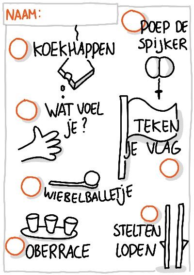 Spelletjestocht koningsdag oud hollandse spellen